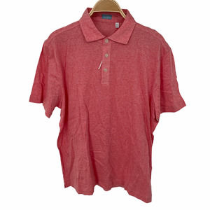 Culturata Contemporary Fit Polo Shirt Pink Size XL